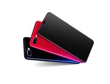 OPPO F9 Pro smartphone.