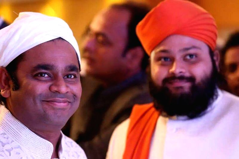 Oscar winning music director A.R. Rahman visits Ameen Peer Dargah in Kadapa of Andhra Pradesh on Jan 31, 2018. - A.