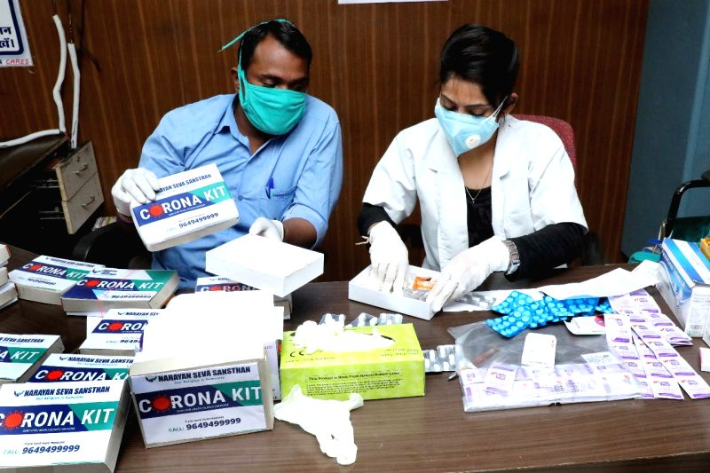 Over two lakh medical kits delivered to Covid patients in MP