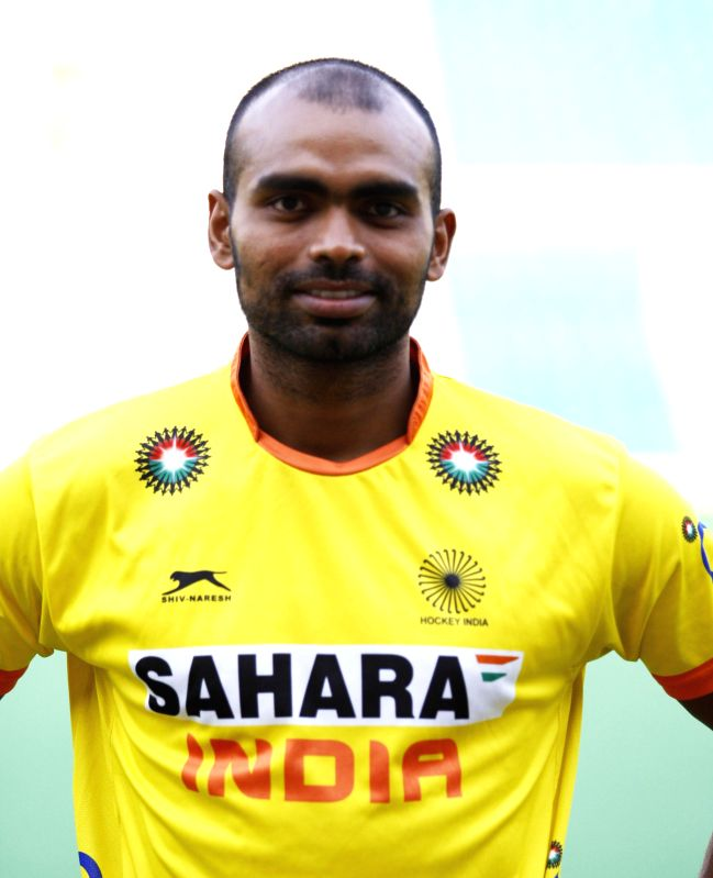 P R Sreejesh who was selected in the Indian Men Hockey Team for upcoming Hockey World Cup 2014 which is scheduled to begin on 31st May 2014 in The Hague, Netherlands.