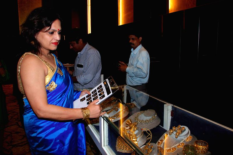 Painter Ananya Banerjee during the jury meets for the 10th annual Gemfields and Nazraana Retail Jeweller India Awards 2014 at Hotel Sahara Star in Mumbai on July 3, 2014. - Ananya Banerjee