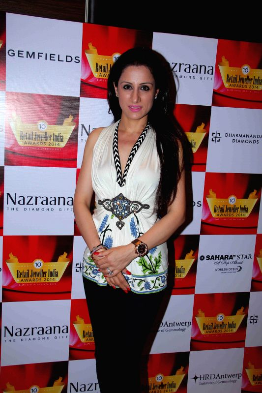 Painter Rouble Nagi during the jury meets for the 10th annual Gemfields and Nazraana Retail Jeweller India Awards 2014 at Hotel Sahara Star in Mumbai on July 3, 2014.
