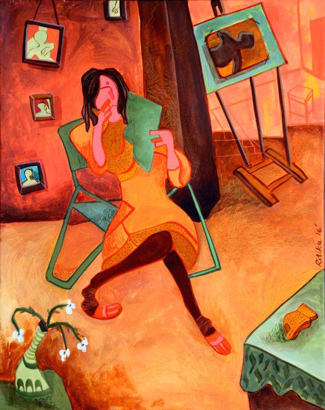 Painting by Ritika Verma - Ritika Verma