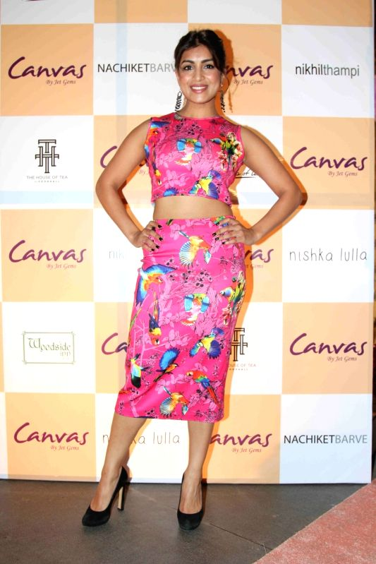 Pallavi Sharda during the launch of jewellery brand, Canvas by Jet Gems in Mumbai on Dec 3, 2015.