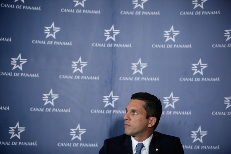 PANAMA CITY, June 3, 2016 - Panamanian Deputy Foreign Minister Luis Miguel Hincapie attends a press conference on the expansion project of the Panama Canal, in Panama City, capital of Panama, June 2, ... - Luis Miguel Hincapie