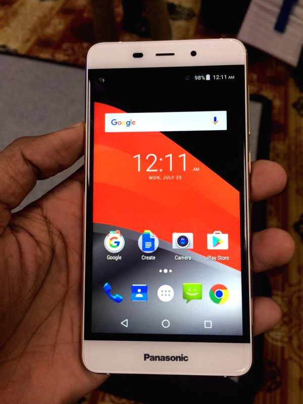 Panasonic Eluga Arc2 smartphone.
