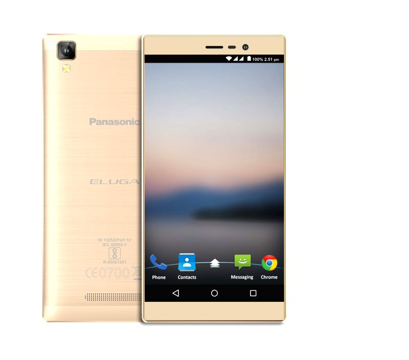 Panasonic India on Thursday unveiled its 4G-enabled smartphone ELUGA A2 with 4,000 mAh battery for Rs.9,490. (Photo: Panasonic)