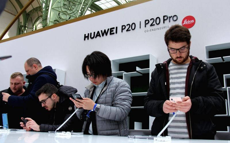 FRANCE-PARIS-CHINA-HUAWEI'S NEW SMARTPHONES