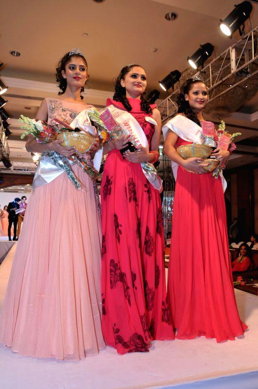 Participants of Miss North India 2014 (L to R) Nihara Anand, Priya Kaith and Shailja Sharma in New Delhi. - Shailja Sharma