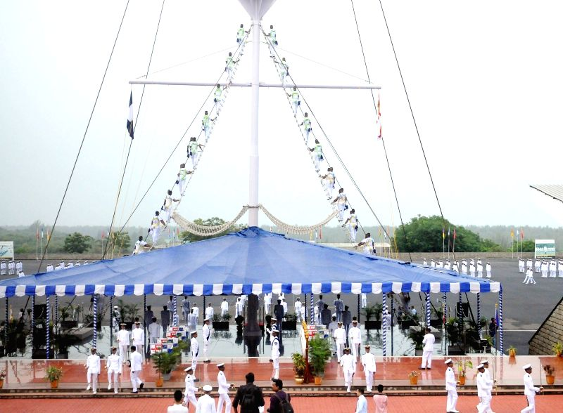 Indian Naval Academy  - Spring Term 2018 - passing out parade