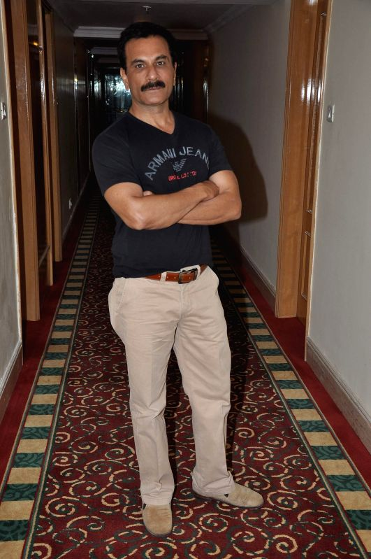Pawan Malhotra during the media interaction about his upcoming film Children of War in Mumbai on May 12, 2014. - Pawan Malhotra
