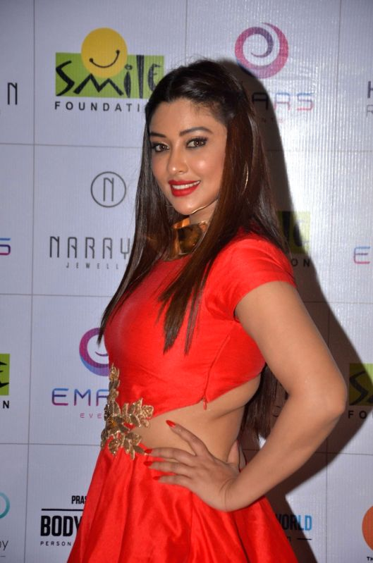 Payal Ghosh during the 11th edition of Ramp for Champs organised by NGO Smile Foundation, on Oct 13, 2016. - Payal Ghosh