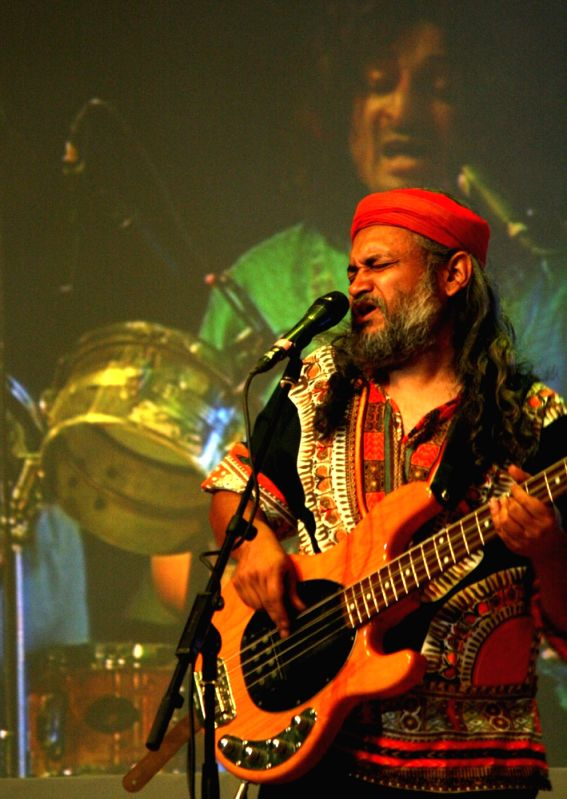 Performance by  Indian Ocean band at the Africa Day celebrations in New Delhi on Friday 25 May 2012.