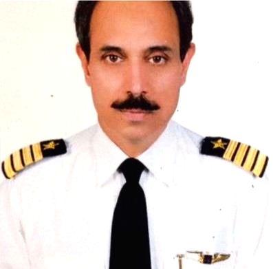 Pilot of the crashed PIA aircraft.