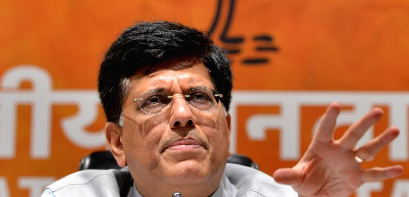 Piyush Goyal. (Image Source: IANS)
