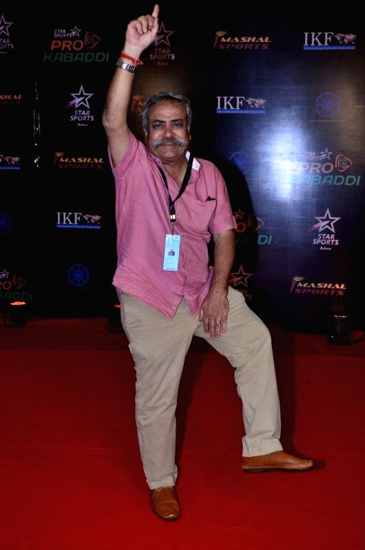 Piyush Pandey, Executive Chairman and National Creative Director Ogilvy & Mather India during the finals of the Pro Kabaddi League between Jaipur Pink Panthers and U Mumba in Mumbai on August 31, - Piyush Pandey