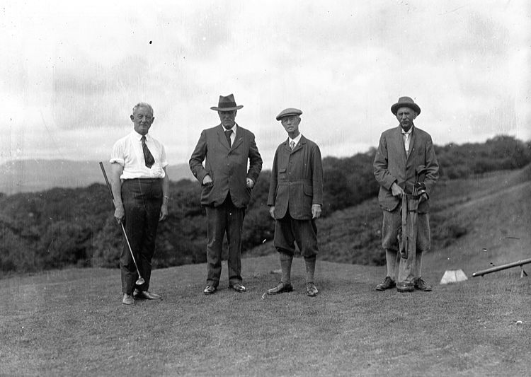 Players of golf - a sport whose nature and rules resemble human life
