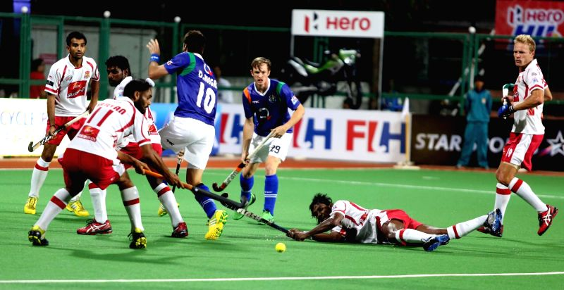 Hockey India League - Mumbai Magicians vs Uttar Pradesh Wizards