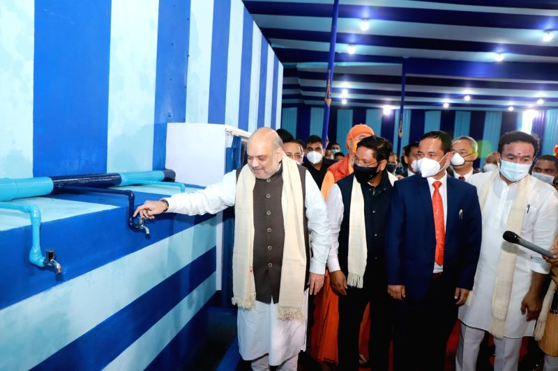 PM set target to provide drinking water to all household : Amit Shah