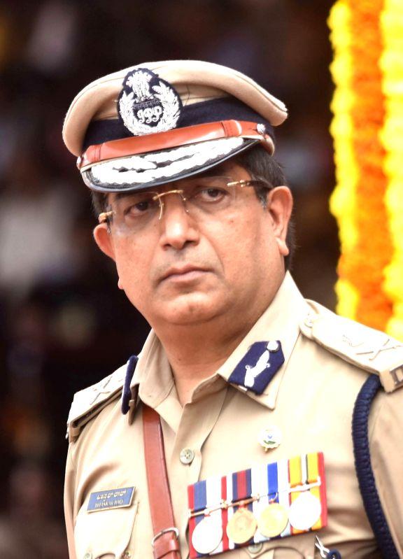 Police Commissioner Bhaskar Rao