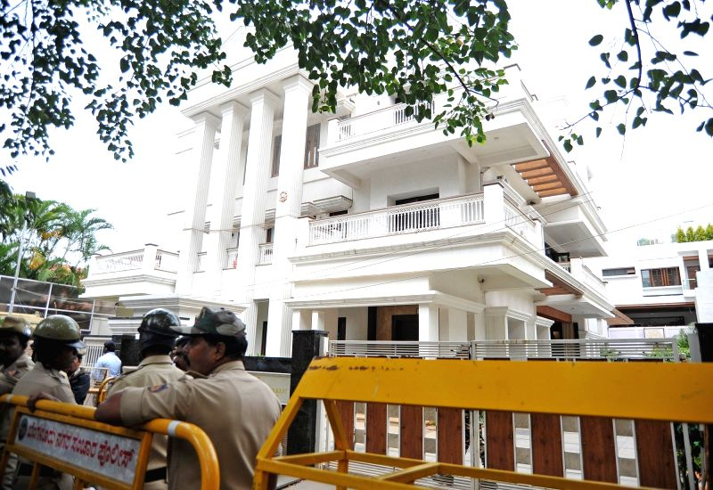 Income Tax raid at Karnataka Energy Minister's residence - D