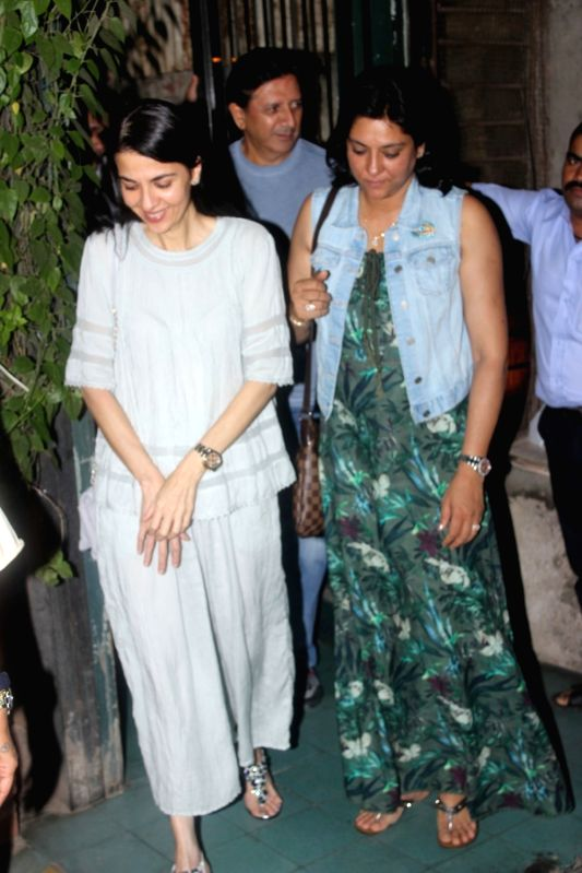 Politician Priya Dutt spotted at airport in Mumbai on May 24, 2017. - Priya Dutt