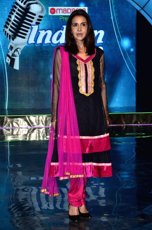 Pop singer Sharon Prabhakar during the on location shoot of film Ishq Ne Crazy Kiya Re in Mumbai, on August 2, 2014.