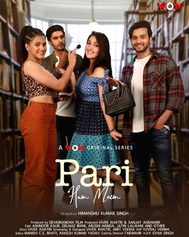 Poster of Ashnoor Kaur's debut web show 'Pari Hun Mein' launched.(photo:instagram)