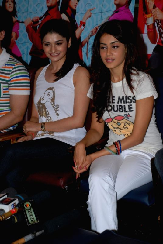 Genelia D Souza In Life Partner Desai and Genelia D Souza