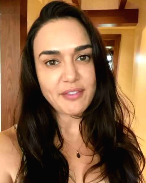 Preity Zinta: Quarantine is all about being positive in life.