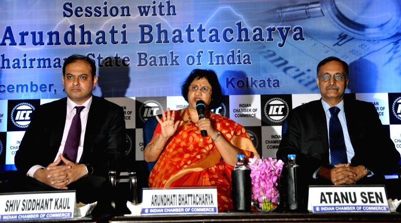 President, Indian Chamber of commerce, (ICC) Shiv Siddhant Kaul,  Chairman, State Bank of India, Arundhati Bhattacharya and former MD & CEO SBI Life Insurance & Chairman of ICC ...