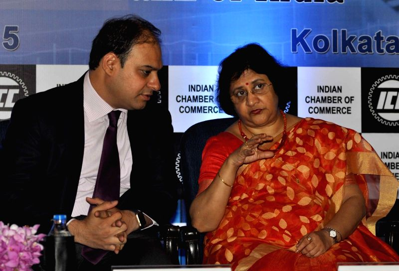 President of ICC Shiv Siddhant Kaul,  Chairman, State Bank of India, Arundhati Bhattacharya and former MD & CEO SBI Life Insurance & Chairman of ICC National Expert Committee on ...