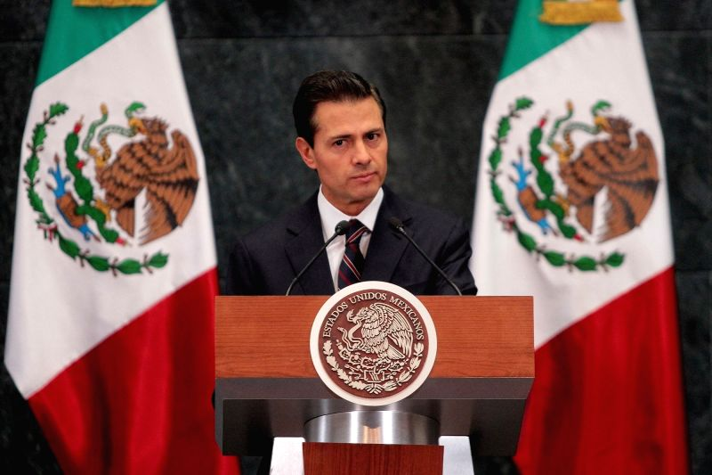 President of Mexico Enrique Pena Nieto. (File Photo: IANS)
