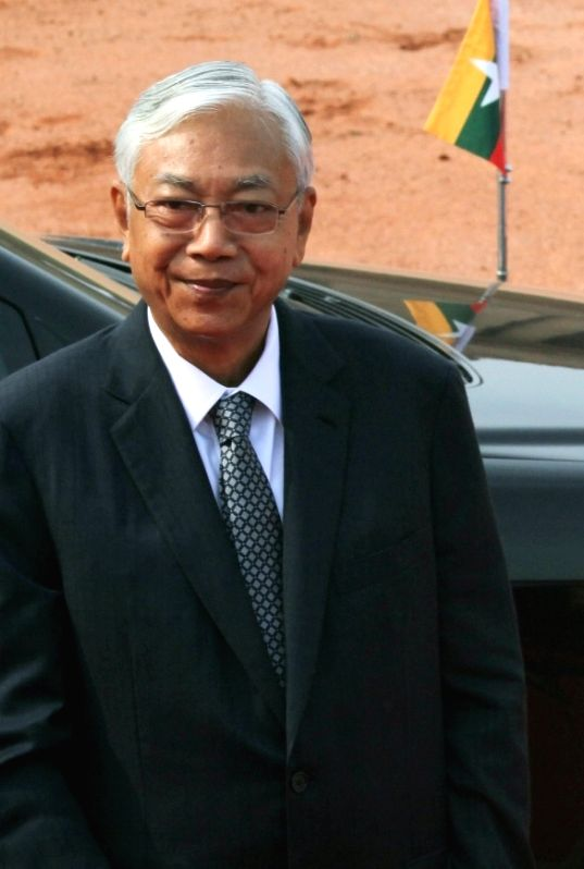 President of Myanmar Htin Kyaw. (File Photo: IANS)