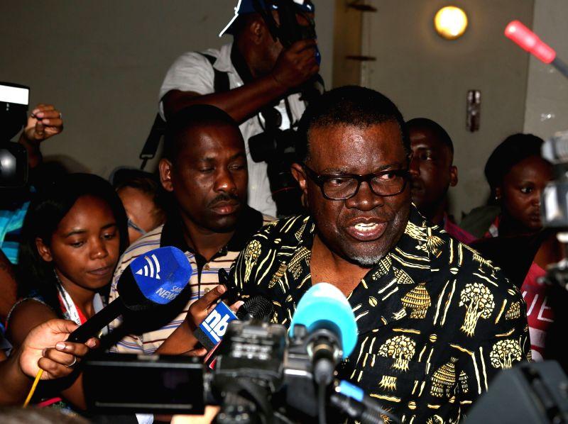 President of Namibia Hage Geingob. (File Photo: IANS)