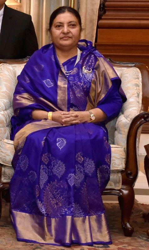 President of Nepal Bidhya Devi Bhandari. (File Photo: IANS)