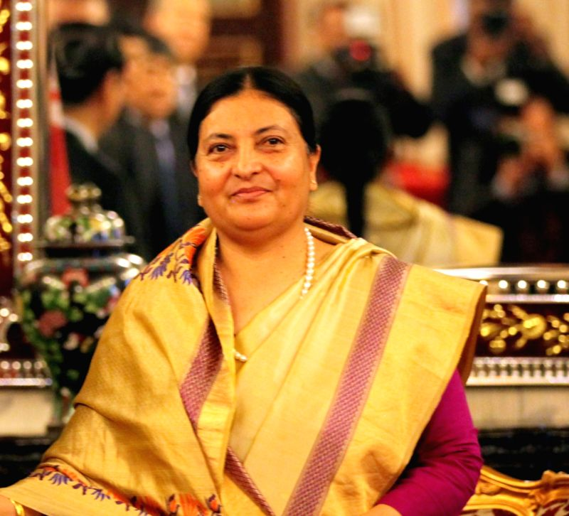 President of Nepal Bidhya Devi Bhandari. (File Photo: IANS)