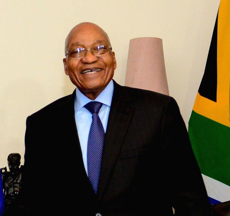 President of South Africa Jacob Zuma. (File Photo: IANS)