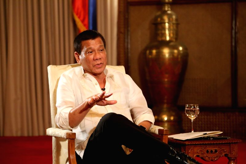 President of the Philippines Rodrigo Duterte. (File Photo: IANS)