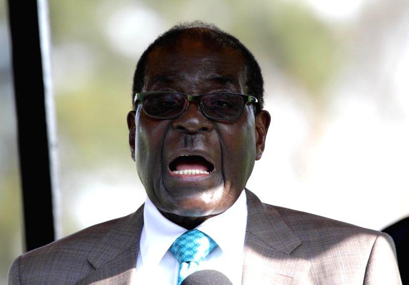 President of Zimbabwe Robert Mugabe. (File Photo: IANS)