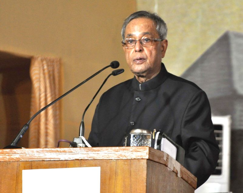 President Pranab Mukherjee addresses at the inauguration of Indian Institute of Engineering Science and Technology (IIEST), at Shibpur, Howrah, in West Bengal on August 24, 2014. - Pranab Mukherjee