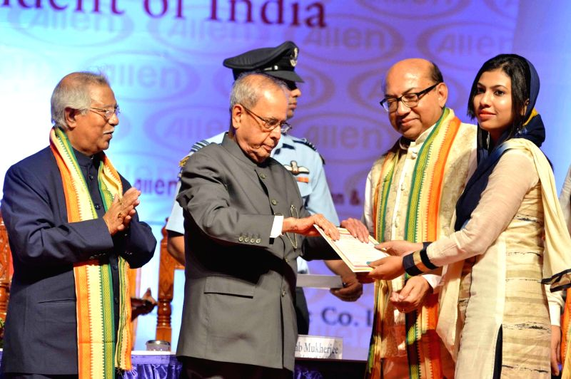 President Pranab Mukherjee during a programme organized to present of Dr. Malati Allen Noble Award, Dr. Sarkar Allen Mahatma Mahnemann Award and Dr. Sarkar Allen Swamiji Award instituted by Dr. ... - Pranab Mukherjee