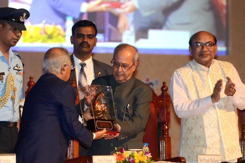 President Pranab Mukherjee during a programme organized to present of Dr. Malati Allen Noble Award, Dr. Sarkar Allen Mahatma Mahnemann Award and Dr. Sarkar Allen Swamiji Award instituted by ... - Pranab Mukherjee