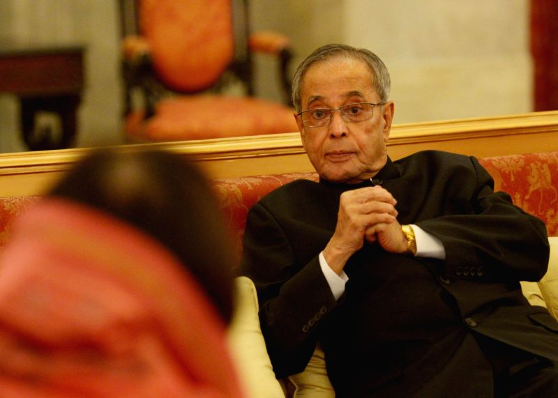 President Pranab Mukherjee during an Iftar Party at the Rashtrapati Bhawan in New Delhi on July 21, 2014. - Pranab Mukherjee