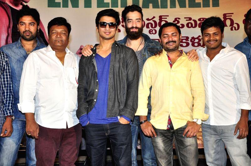 Press meet from Telugu film `Sankarabharanam`.