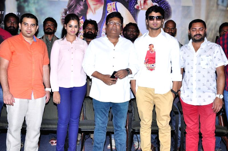 Press meet from Telugu film `Shankarabharanam`.