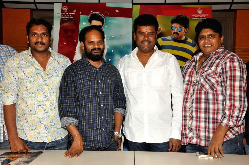Press meet from Telugu film `Sher`.