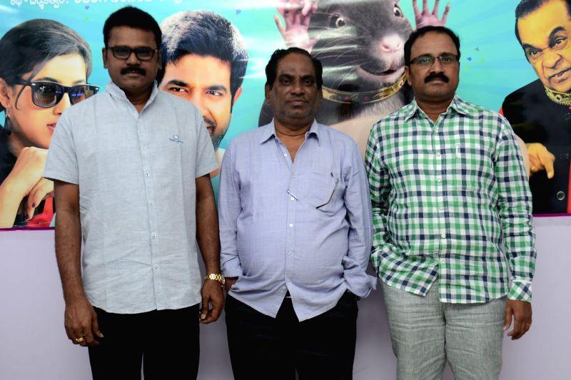 Press meet of Telugu film `Eluka Mazaka` directed by director Relangi Narasimha Rao. - Relangi Narasimha Rao