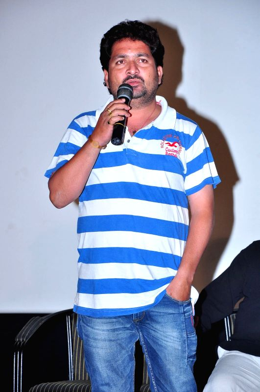 Press meet of Telugu film `The Bells`.