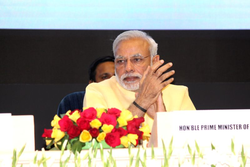 Prime Minister Narendra Modi at the launch of the Skill India Mission, on the occasion of the World Youth Skills Day, in New Delhi on July 15, 2015. - Narendra Modi